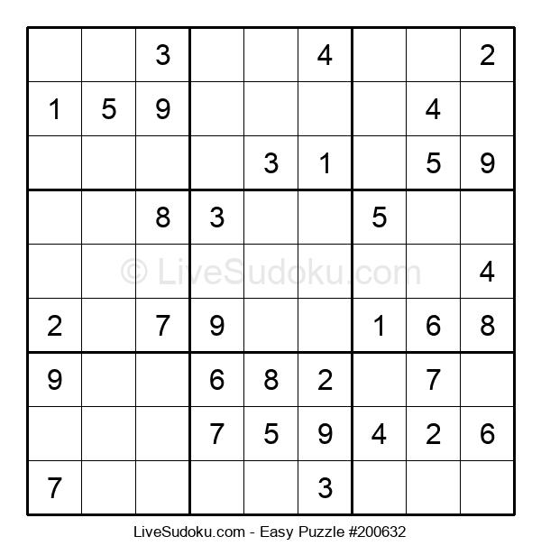 Beginners Puzzle #200632