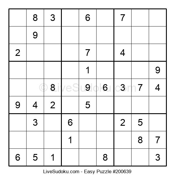 Beginners Puzzle #200639