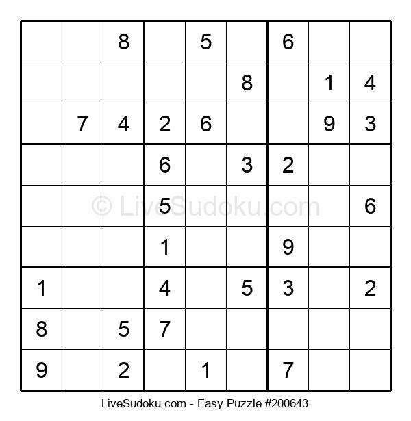 Beginners Puzzle #200643
