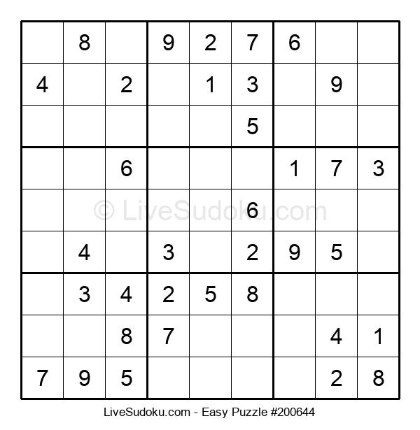 Beginners Puzzle #200644