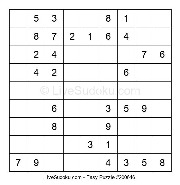 Beginners Puzzle #200646