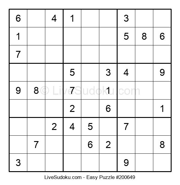 Beginners Puzzle #200649