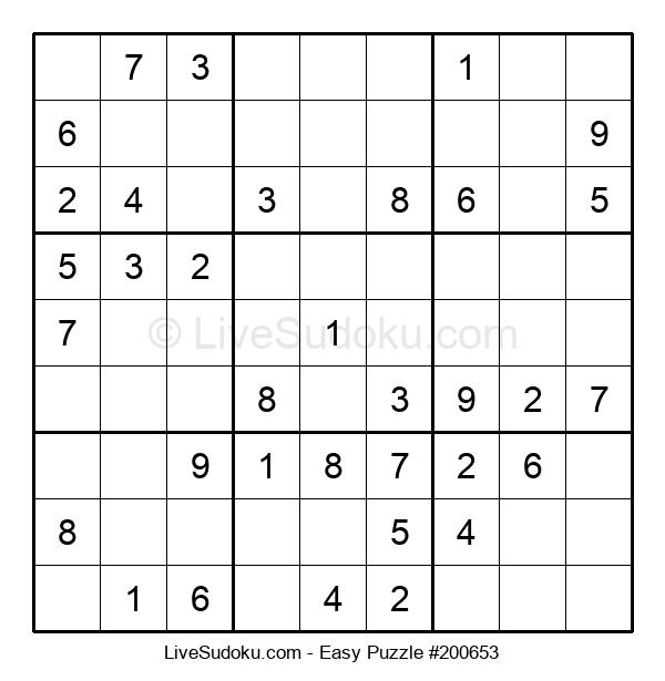 Beginners Puzzle #200653