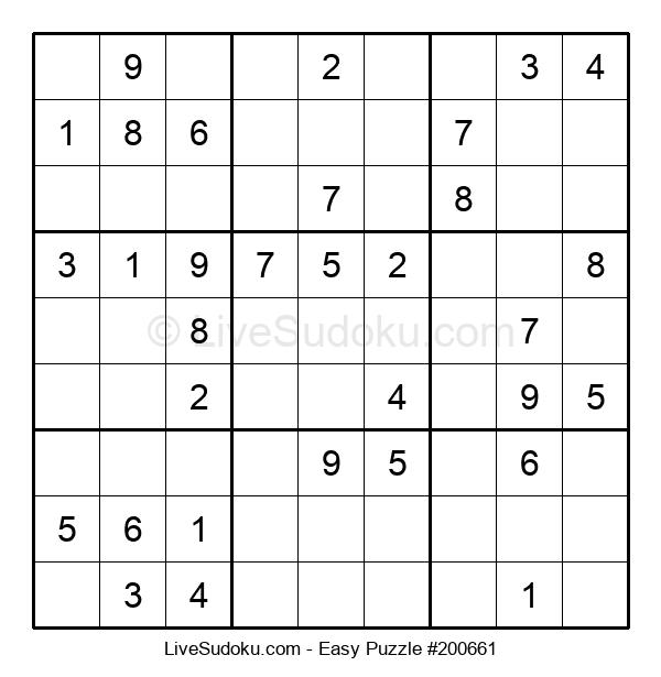 Beginners Puzzle #200661
