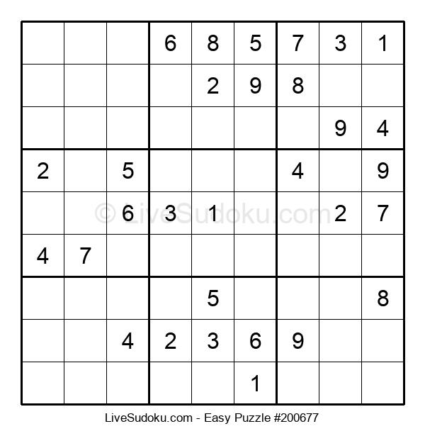 Beginners Puzzle #200677
