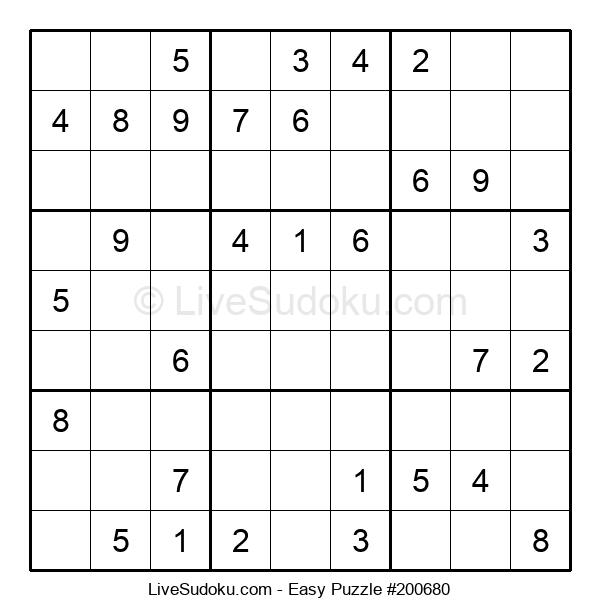 Beginners Puzzle #200680