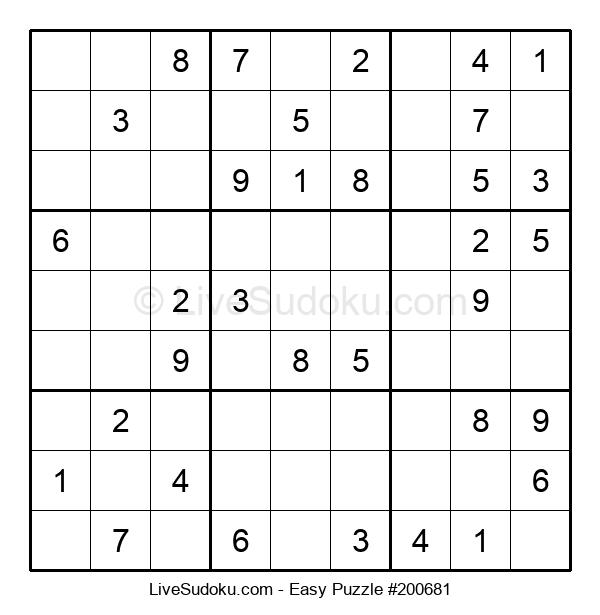 Beginners Puzzle #200681