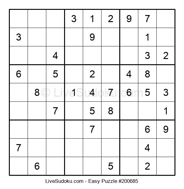 Beginners Puzzle #200685