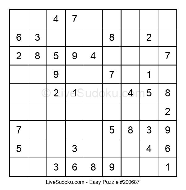 Beginners Puzzle #200687