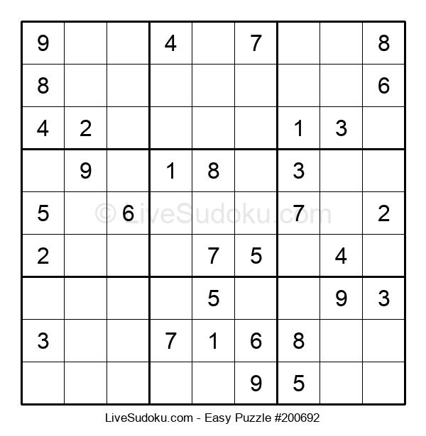 Beginners Puzzle #200692