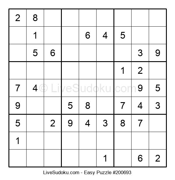 Beginners Puzzle #200693