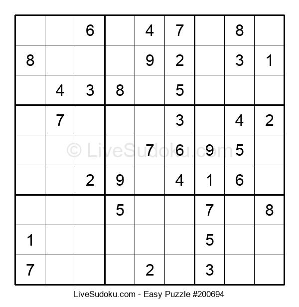 Beginners Puzzle #200694
