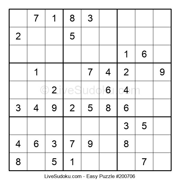Beginners Puzzle #200706