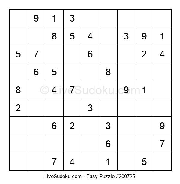 Beginners Puzzle #200725