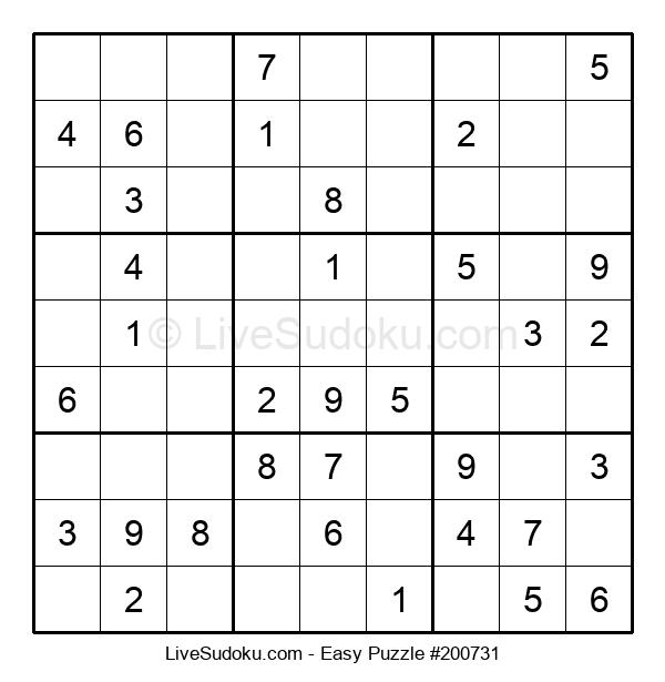Beginners Puzzle #200731