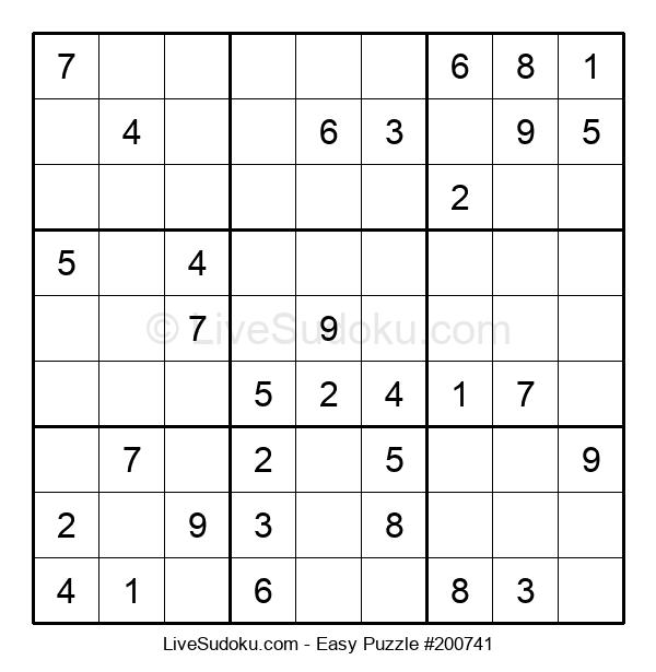 Beginners Puzzle #200741