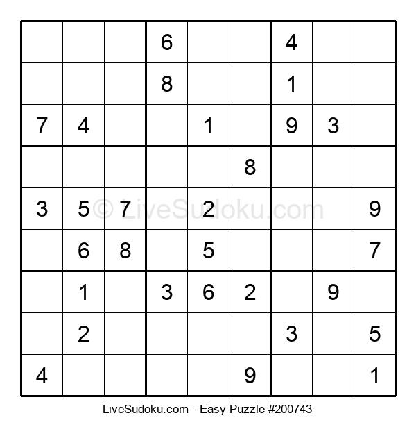 Beginners Puzzle #200743