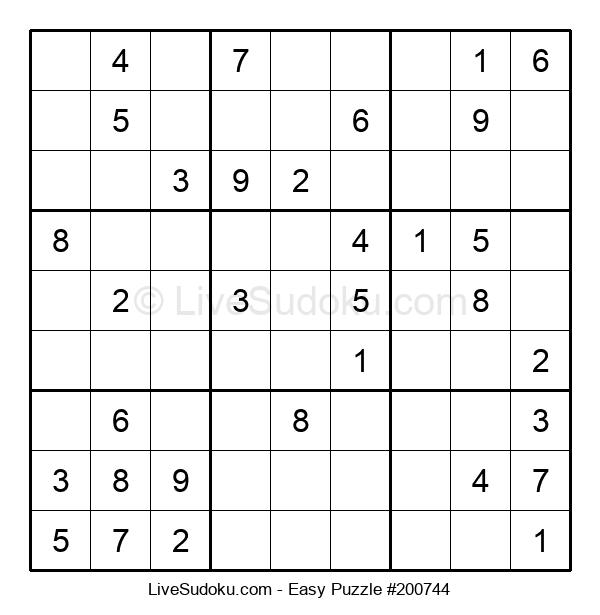 Beginners Puzzle #200744