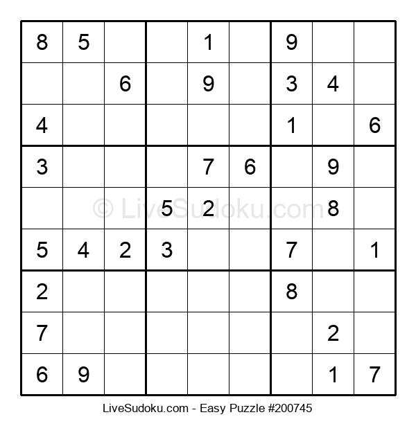 Beginners Puzzle #200745