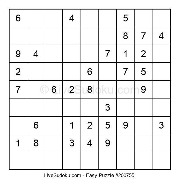 Beginners Puzzle #200755