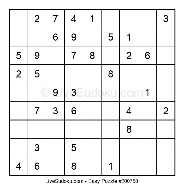 Beginners Puzzle #200758