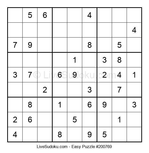 Beginners Puzzle #200769