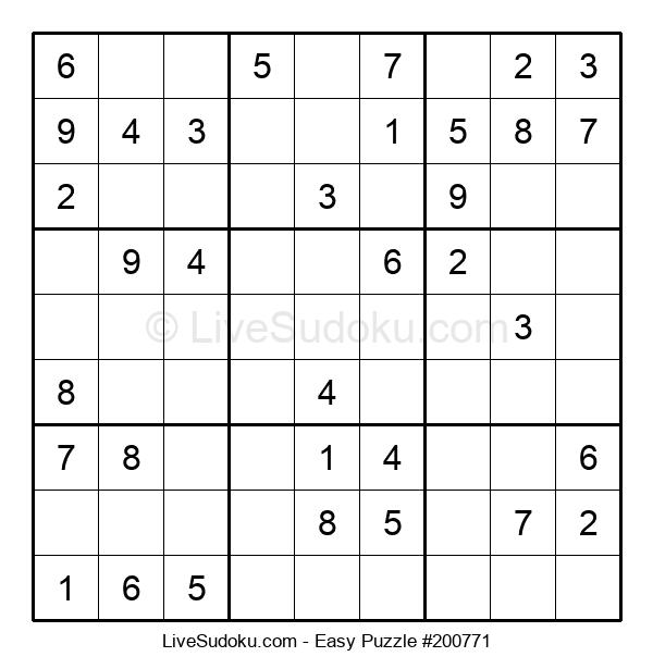 Beginners Puzzle #200771