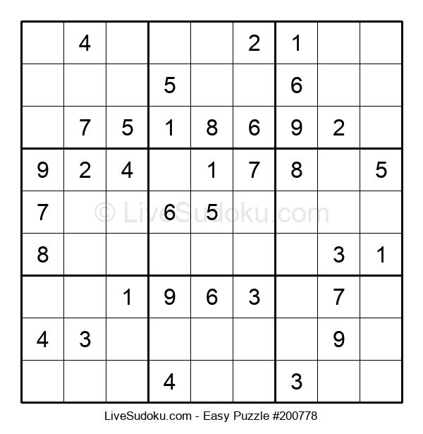 Beginners Puzzle #200778