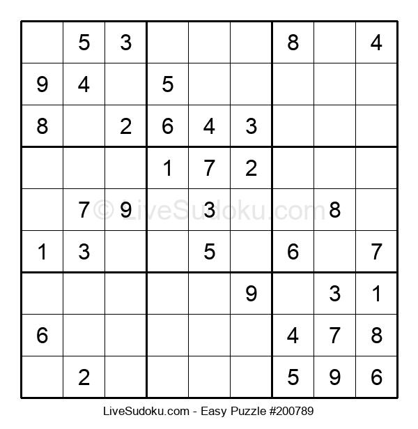 Beginners Puzzle #200789