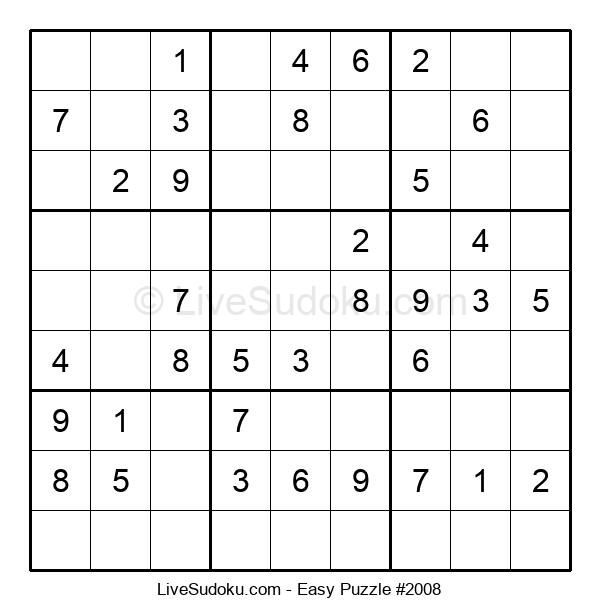 Beginners Puzzle #2008