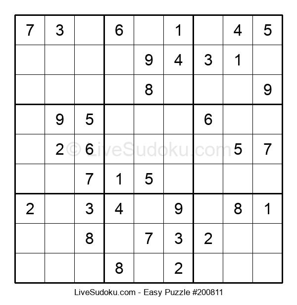 Beginners Puzzle #200811