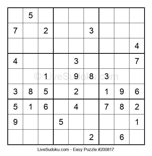 Beginners Puzzle #200817