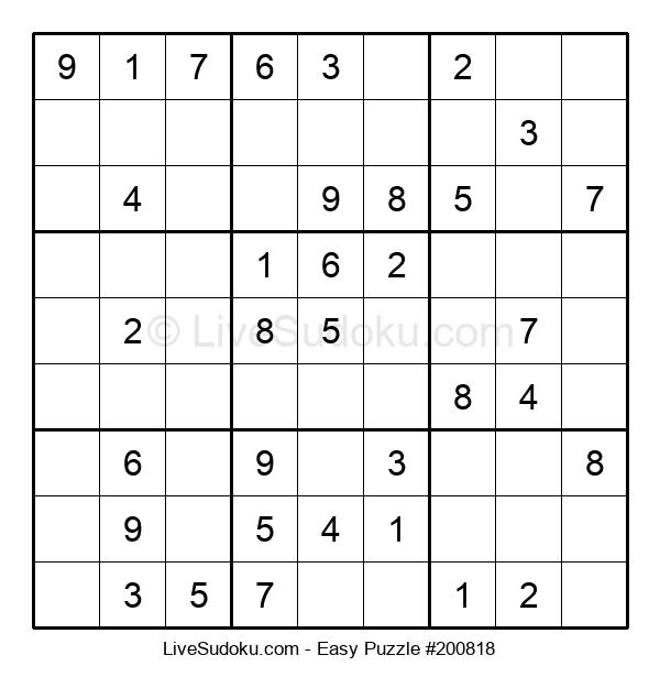 Beginners Puzzle #200818