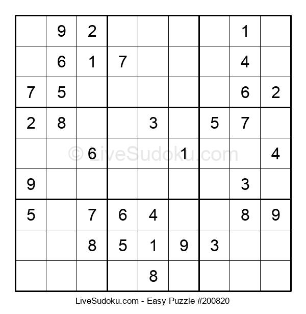 Beginners Puzzle #200820