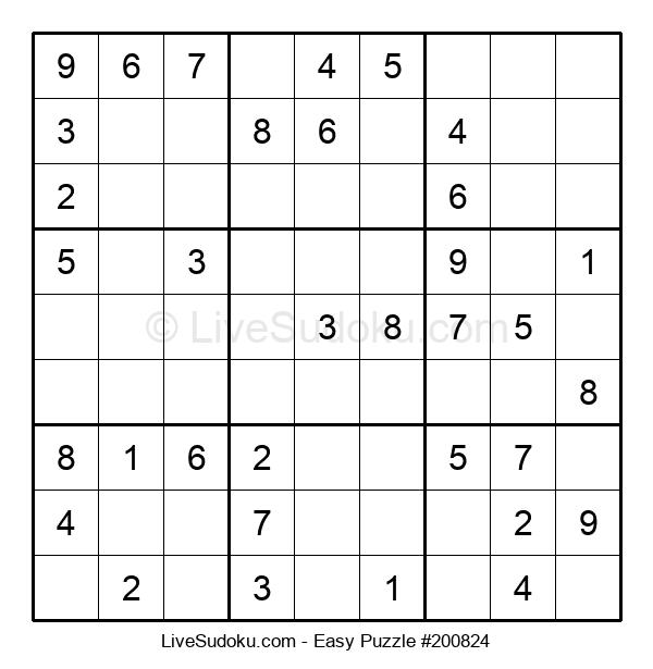 Beginners Puzzle #200824