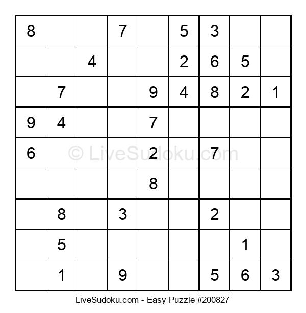 Beginners Puzzle #200827