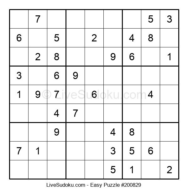 Beginners Puzzle #200829