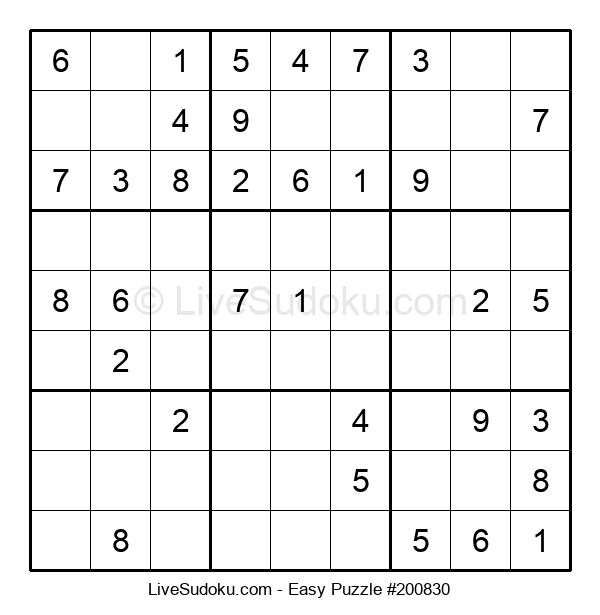 Beginners Puzzle #200830