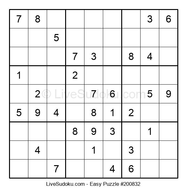 Beginners Puzzle #200832