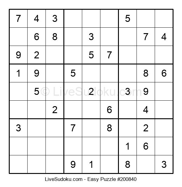 Beginners Puzzle #200840