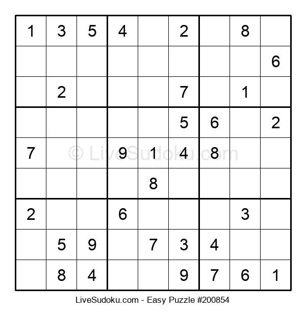 Beginners Puzzle #200854