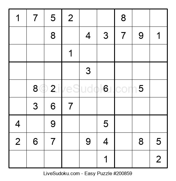 Beginners Puzzle #200859