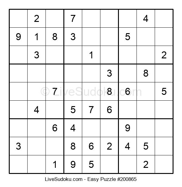 Beginners Puzzle #200865