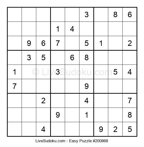 Beginners Puzzle #200868