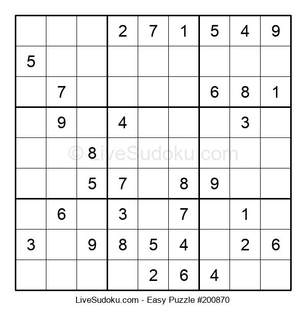 Beginners Puzzle #200870