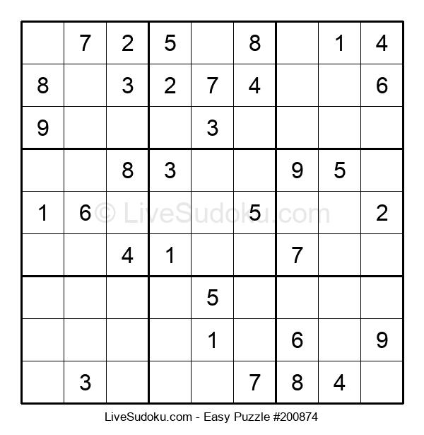 Beginners Puzzle #200874