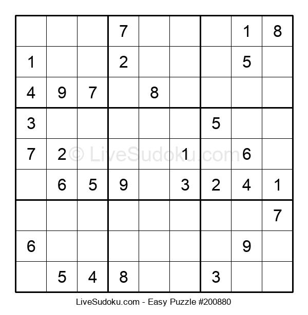 Beginners Puzzle #200880