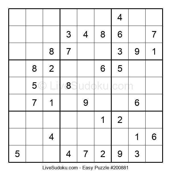 Beginners Puzzle #200881