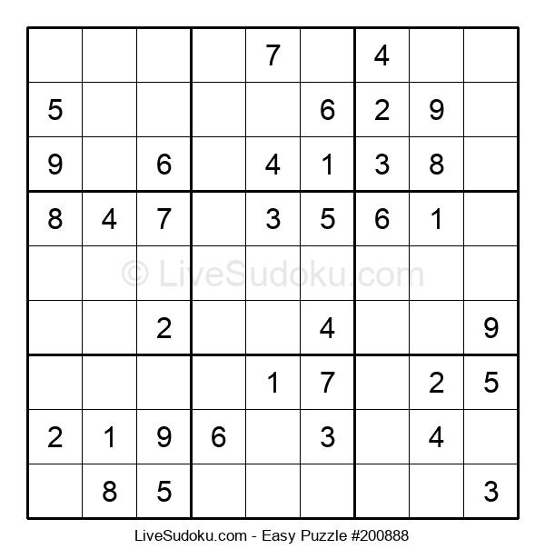 Beginners Puzzle #200888