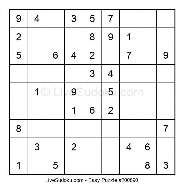 Beginners Puzzle #200890